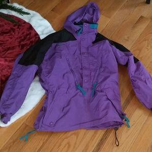 Vintage Purple Columbia Ski Jacket Retro
